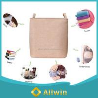 Wholesale multi-function canvas fabric cloth storage basket