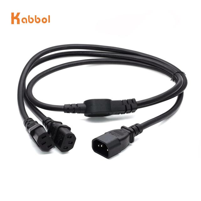 AC 250V 10A US Plug to C13 Female Electric Desktop Power Cable 1.8M Length