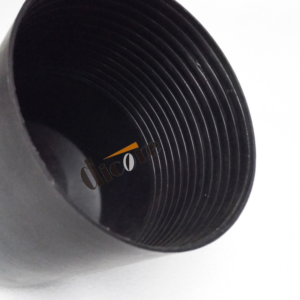 Heat shrinkable cable end cap with valve pipe pvc