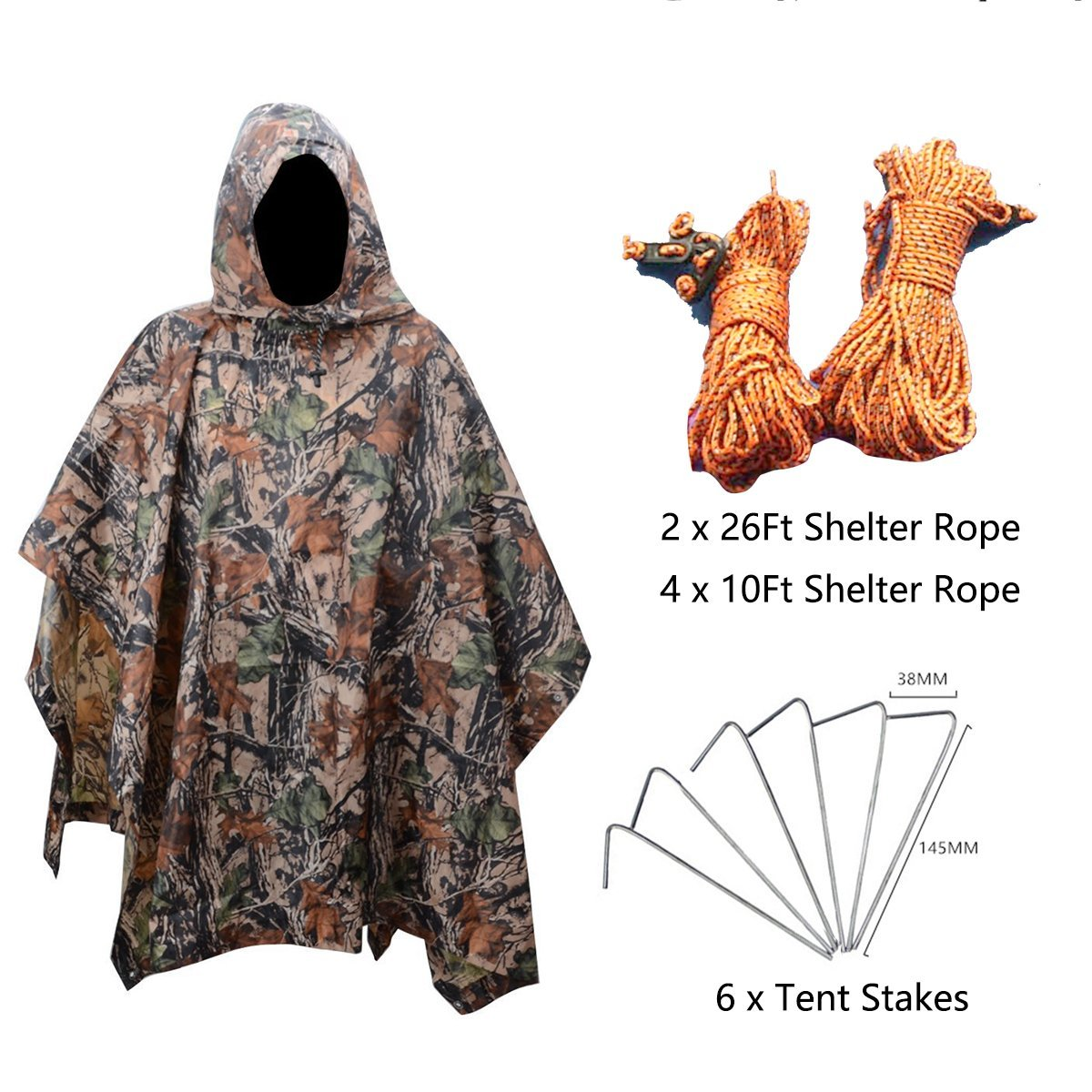 Cheap Ultralight Poncho Tarp Find Deals On Waterproof Xl 55inch Get Quotations Xtacer Multi Use Rain 83x55 3 In