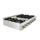 48inch 6 burners table-top gas cooktop/gas range top /gas stove