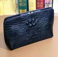 Handmade Custom Wallet for Man Crocodile Leather