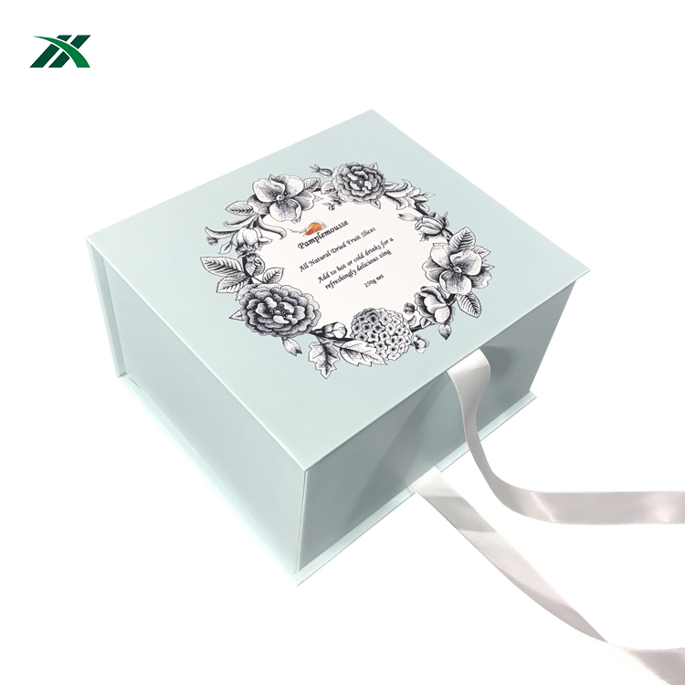 Custom paper packaging favor wedding chocolate/candy gift box