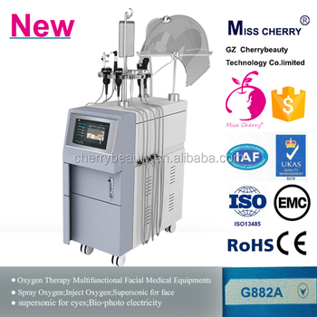 Oxygen facial theorpy machine