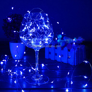 Wholesale battery operated micro copper wire led christmas string mini decoration light chain