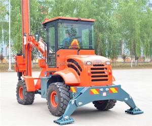 Professional pile machine PM4000 ground screw drilling machine as pile rigs