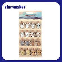 handicraft colored mini wooden clips home decoration mini clothespin peg wooden craft clips