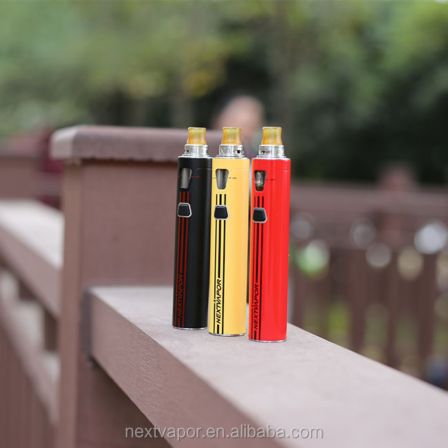 china supplier 60w 1900mah electric cigar rainbow color flavored cigarette filter