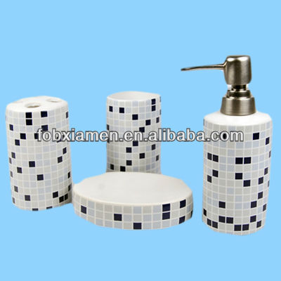 Cobalt Blue Bathroom Accessories Blue Mosaic Bathroom Accessories. Blue Mosaic Bathroom Accessories   gerryt com