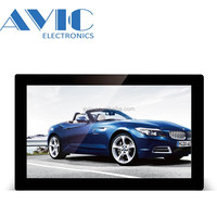 OEM Tablet 21.5 inch Wall Mounted Digital Signage 1920*1080 IPS Quad Core CPU 2G RAM 32GB Android Lcd Display Craz Advertising
