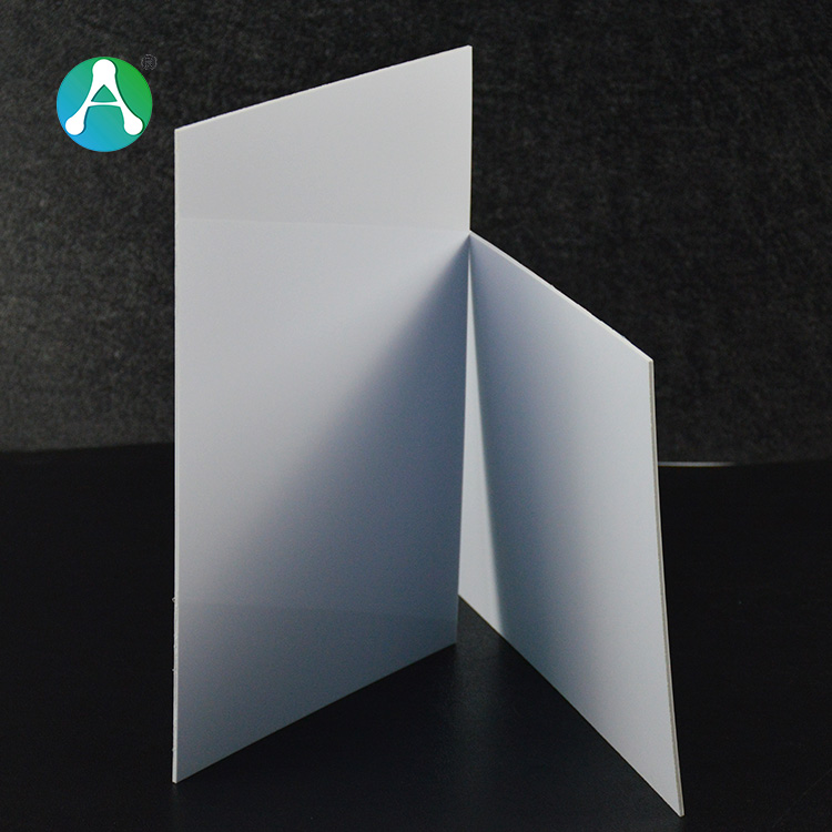hard white vacuum forming plastic ABS sheets covers