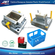 taizhou huangyan injection household office storage fruit vegetable quality milk chicken bottle fish beer plastic crate mould