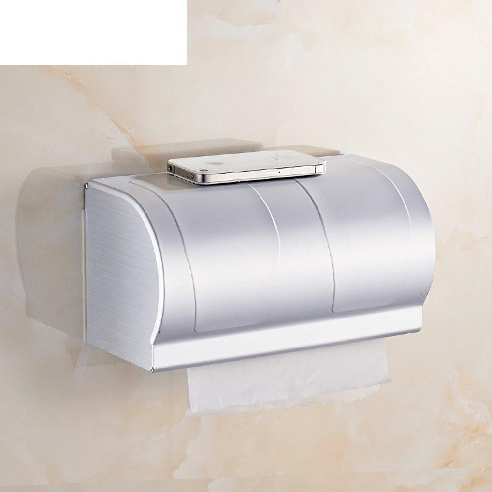 space aluminum Towel rack/Toilet tissue box/ bathroom toilet paper box/Hygienic tray/ waterproof toilet paper holder/ toilet roll holder-B