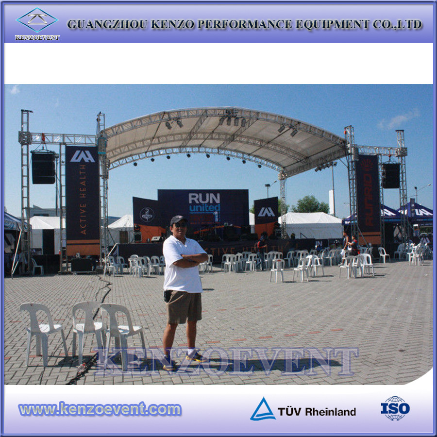 C Channel Outdoor Stage Truss Roof System Buy Arch Truss