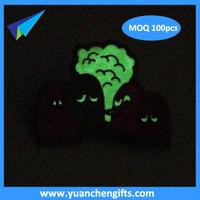 Professional custom badges, metal luminous badge production, glow in dark metal crafts