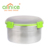 Round Shaped stainless steel crisper/keep fresh food container box with lid