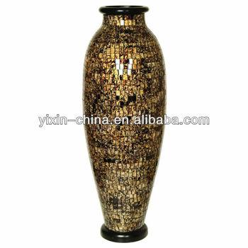 15m Dreamlike Big Mosaic Floor Vase Buy Mosaic Floor Vaseglass