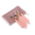 MSQ 12pcs rose gold eyebrow brush private label eyeshadow makeup brush set with leather bag