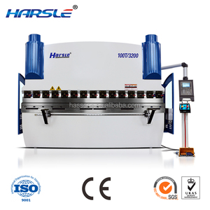 HARSLE China High Efficiency Electromagnetic 40T/2200mm Sheet Metal Bending Machine/manual Sheet Metal Press Brake