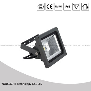 outdoor waterproof IP65 COB light sourse die-casting aluminum projector led flood light