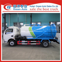 Made in china dongfeng 6cubic meter 4x4 Combination Sewer Cleaning Trucks