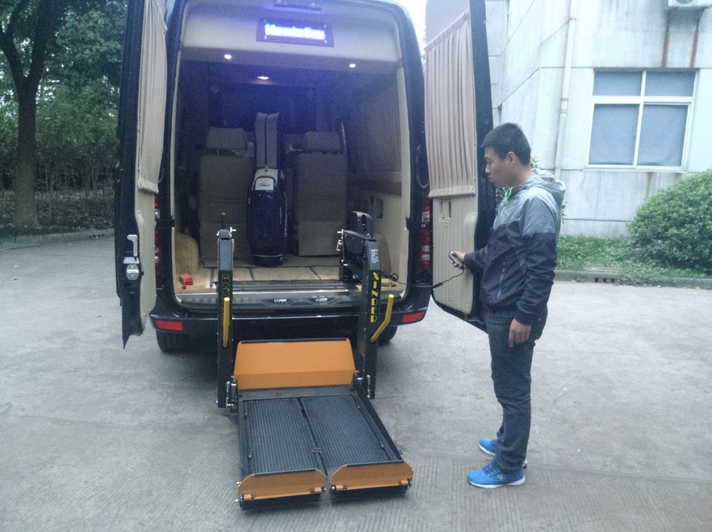WL-D-880S Wheelchair Lift for Ambulance Van for disabled people with Electric wheelchair