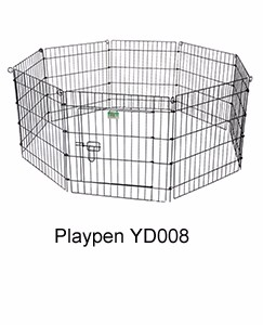 expandable outside large folding dog fence