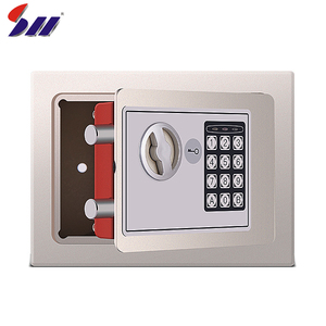 3-8 Code digits hot rolling steel powder coating security office electronic digital lock safe box
