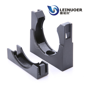 All in and half packed adjustable clamp holder plastic pipe brackets