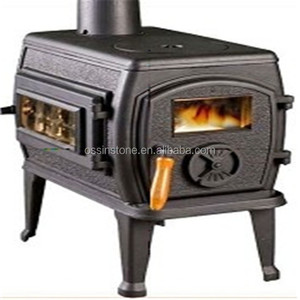 Cast Iron Fireplace Type Wood Burning Stove for cooking