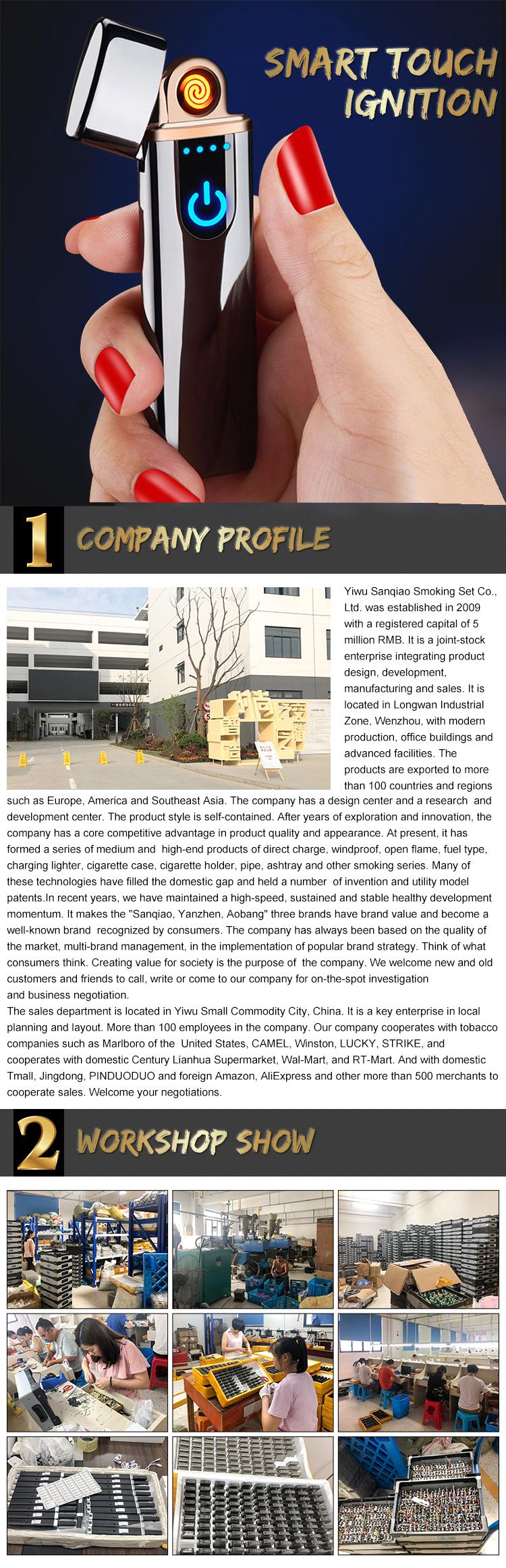 연의 젠 A018 중국 이우시 공장 새로운 판매 다채로운 스트레이트 깜박이는 금속 가스 방풍 라이터 시계 도매