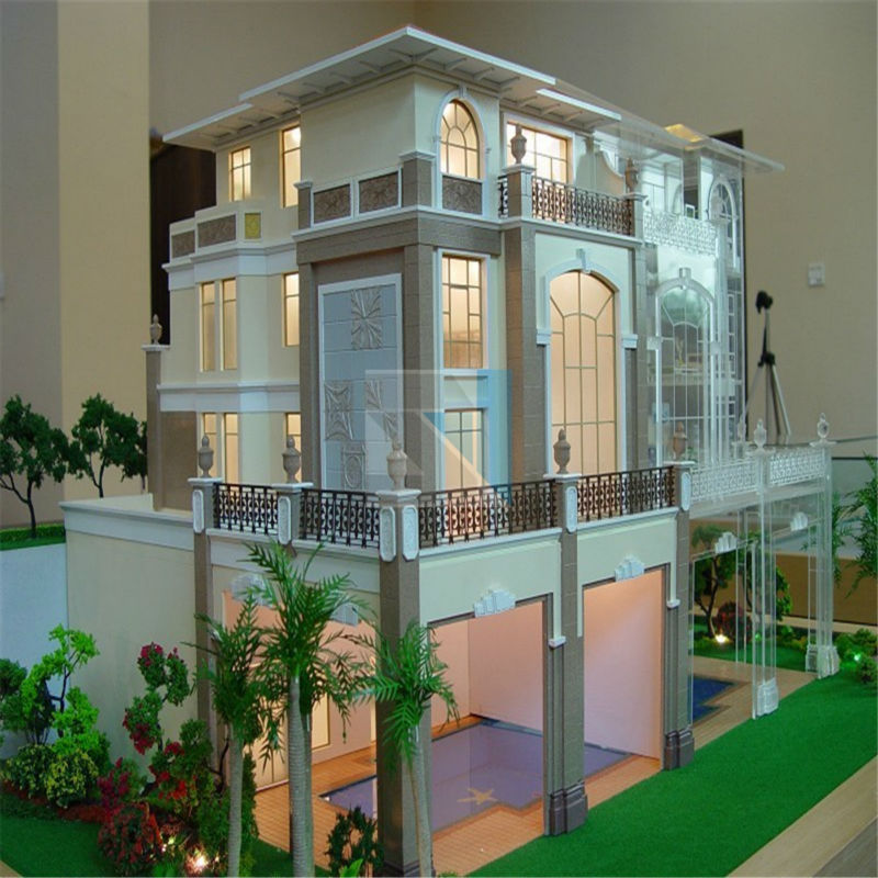 Architecture Plans Models For Real Estate Handmade Scale Model 3d Models Famous Building