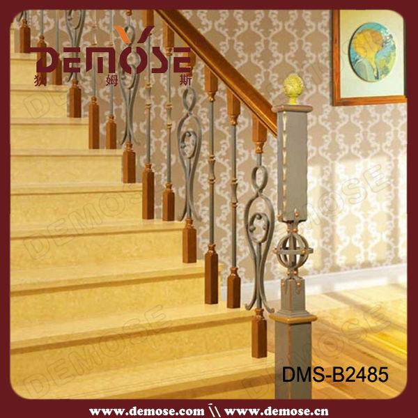 de luxe d 39 int rieur en fer forg con oit rampe d 39 escalier pour la vente rampes et mains. Black Bedroom Furniture Sets. Home Design Ideas