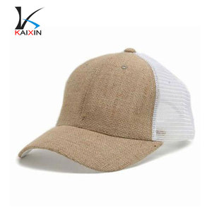 Wholesale 5 Panel Hemp Blank Custom Trucker Hat Cap