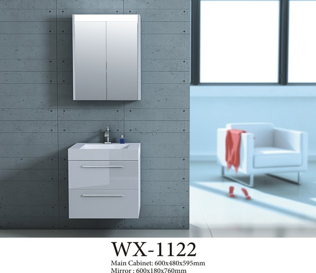 Bathroom wall unit vanity mdf,modern bathroom cabinet