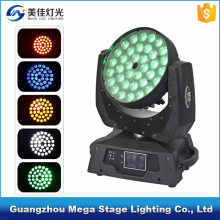 Pro 360W 4in1 36x10w 36 zoom led moving head wash light