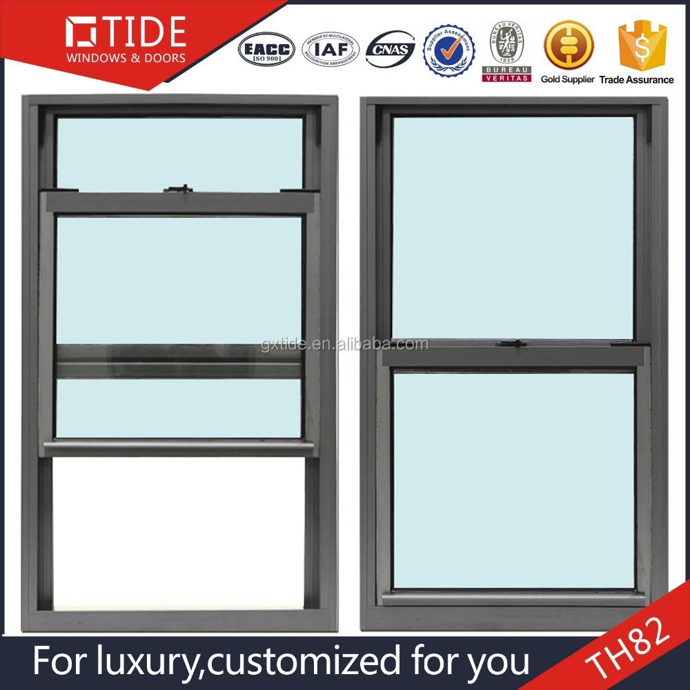 Aluminum Vertical double hung window Aluminum alloy glass window