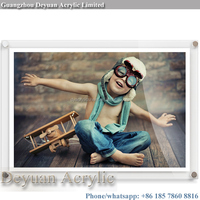 Acrylic wall frame picture frame decoration