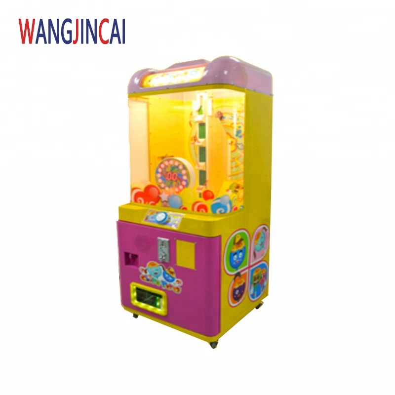 Mini muntautomaat snoep prijs automaten chupa party lolly draaitafel rolling games machines