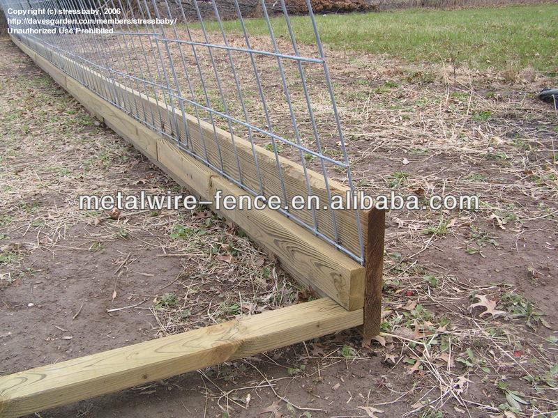 Effet de serre treillis m tallique soud fil de fer barbel id de produit 1764963556 french - Prix treillis soude ...