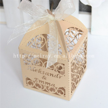 Clear Artistic Favor BoxAmazing Indian Wedding Return Gifts For