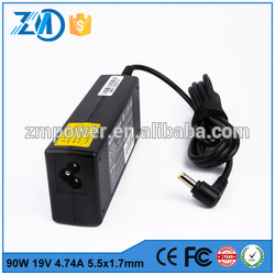 China cheap universal charger 30W 19V 1.58A 5.5*2.5 for Toshiba