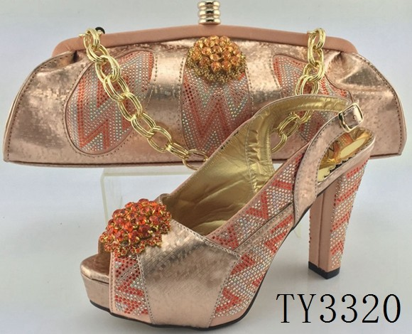 silver shoes matching color and italian shoes bags bag heel TY3320 and high aXzqBR