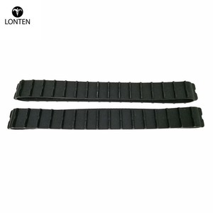 Lonten Rubber Track for robot Tank car chassis Model transmission belt for tractor crawler caterpillar chase diy tracked wheel