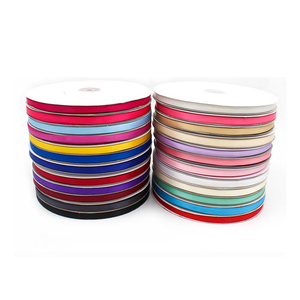 Wholesale colorful single double sided satin ribbon for gifts decorations packaging
