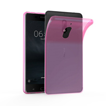 Ultra Slim TPU Mobile Phone Back Cover Case For Nokia 6
