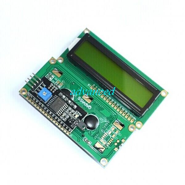 Special promotions !!!! LCD module (yellow-green screen) For Arduino IIC/I2C 1602 LCD