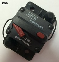 E99 Max 200amp Resettle Busmann Thermal Protector High Amp Circuit Breaker for boating