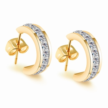 Gb0617390f 2017 New 22k Jewelry Dubai Gold Earrings Designs With Price