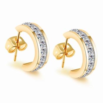 Gb0617390f 2017 Nuevo 22 K Joyería De Oro Dubai Penntes Diseños Con Precio Aretes